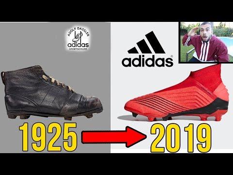 1925 - 2019 ALLE Fussballschuhe | FRÜHER VS HEUTE!!