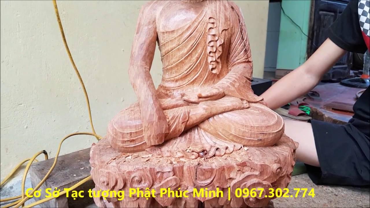 Quá trình tạc tượng Phật hoàng Trần Nhân Tông