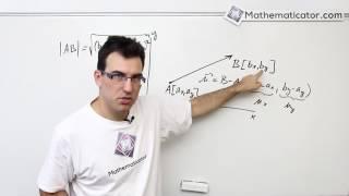 Analytická geometrie 11 - Vektory - Velikost vektoru