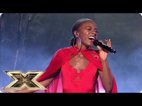 Shan Ako sings The Sound of Silence | Live Shows Week 3 | The X Factor UK 2018