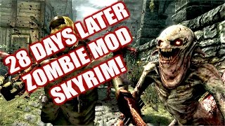 Zombie Mod Skyrim Remastered Xbox One Console Mod | 28 Days and a Bit 5 - Zombie Mutation