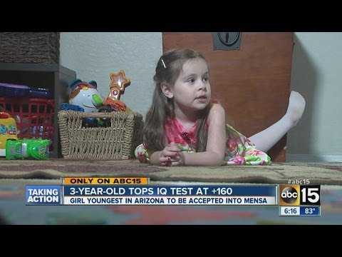 3 Year-old Genius Girl Accepted Into Mensa Mp3