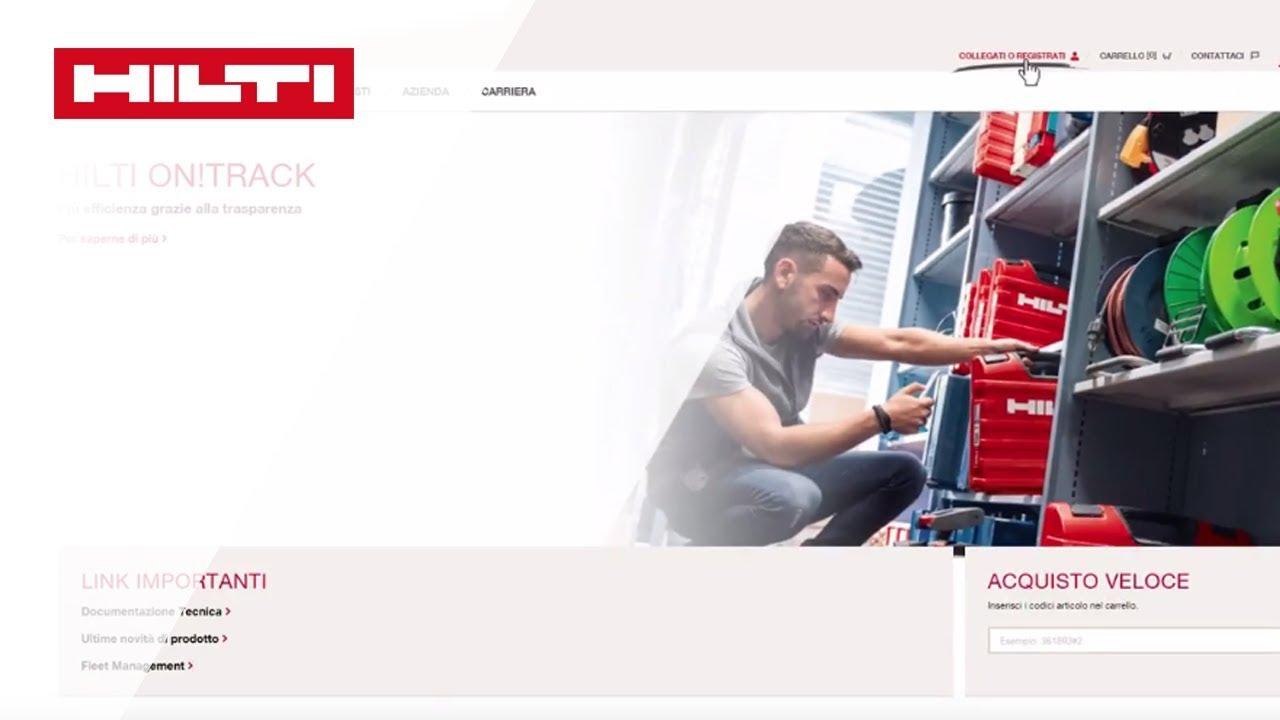 timeless design 41da2 acc88 Registratevi per gli acquisti online - Hilti Svizzera