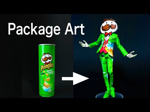 Making a Pringles Man From a Pringles Can