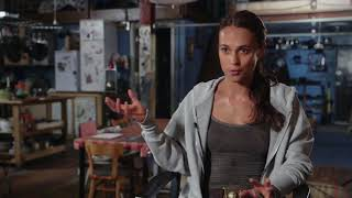 Tomb Rider: Лара Крофт | 2018 | Видео о съемках | Озвучено DOkino