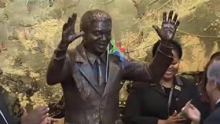 UN unveils statue honoring Nelson Mandela | Kholo.pk