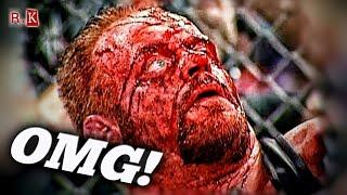 Самые экстремальные моменты в истории WWE/ The most extreme moments in WWE history!