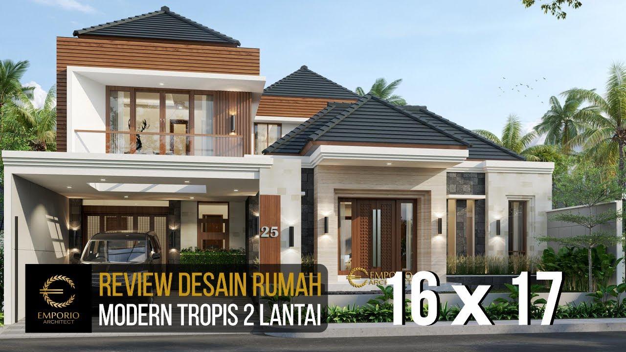 Video 3D Desain Rumah Modern 2 Lantai Bapak Dedi di Palembang