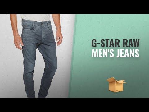 Men's G-STAR RAW Jeans Hot New Arrivals Sep 2018: G-STAR RAW Men's D-STAQ 3D Super Slim Jeans, Grey