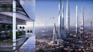 2018 兩名時空旅行者自稱「拍到未來城市的照片?」