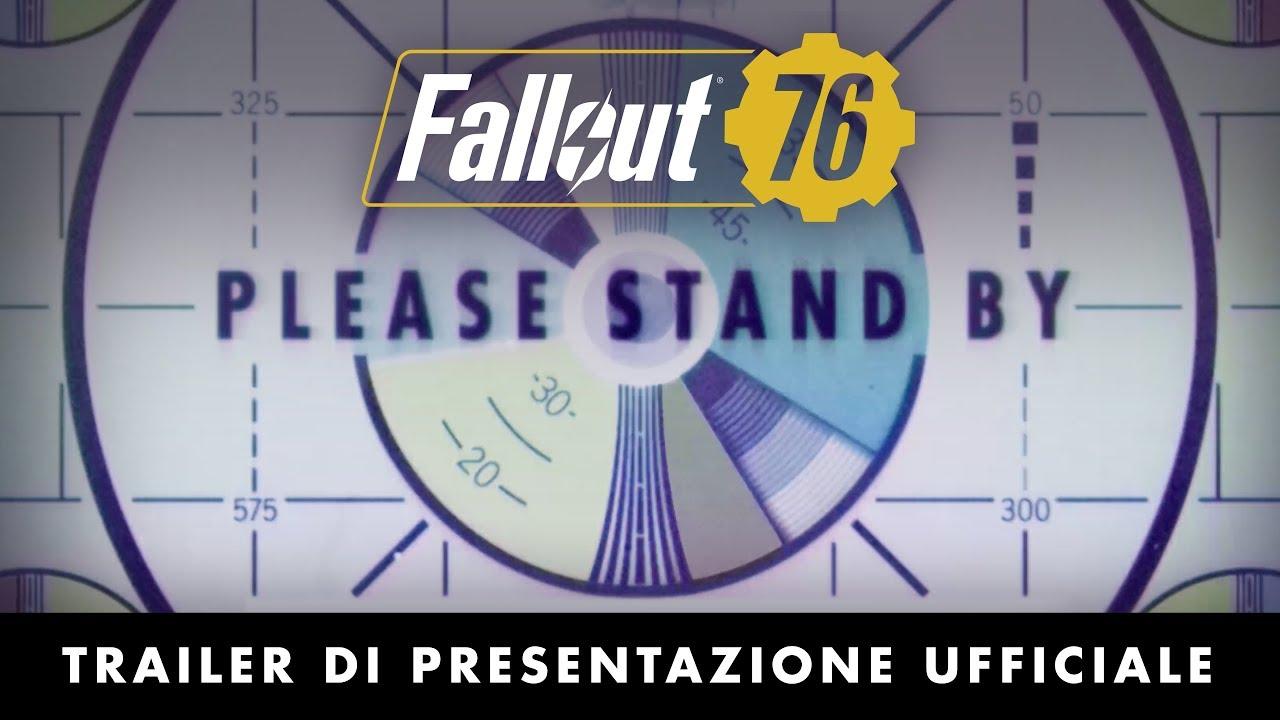 Trailer di Fallout 76