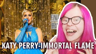KATY PERRY - IMMORTAL FLAME (SONG REACTION) | Sisley Reacts