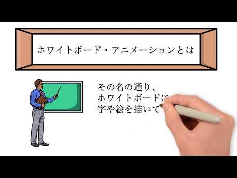 ホワイトボード・アニメーション作成します Video Scribeで動画作ります イメージ1