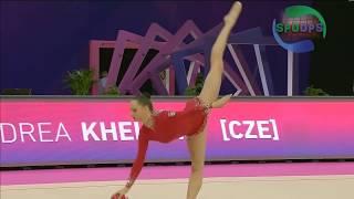 2017 European Rhythmic Gymnastics Championships | Ball Routine Highlights | ᴴᴰ