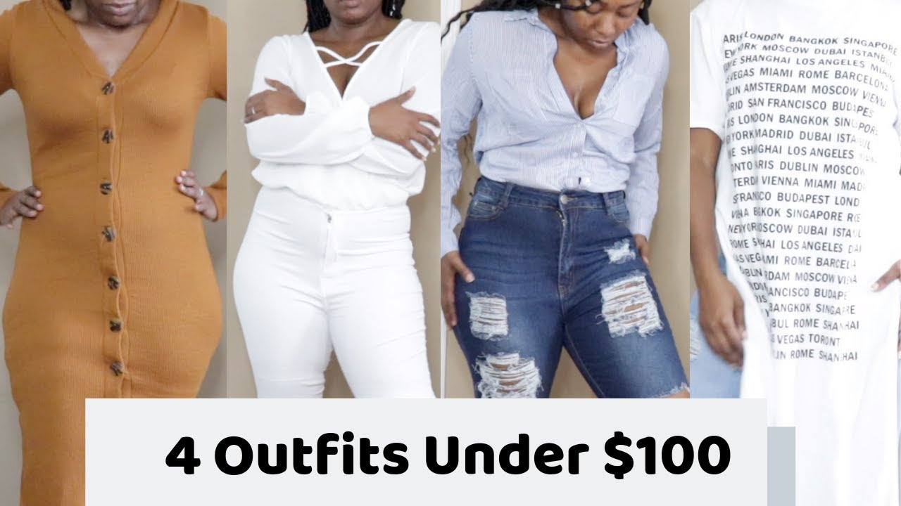 Curvy Girl Fashion Nova Haul : 4 Outfits Under $100