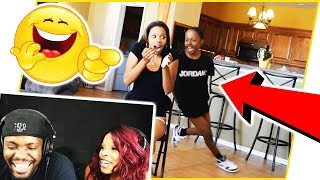 REACTING TO THE PATIENCE TEST WITH MY WIFE TWO YEARS LATER! - MAV3RIQ Fam Reacts Ep.9