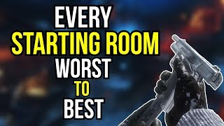 EVERY STARTING ROOM RANKED WORST TO BEST (COD ZOMBIES)