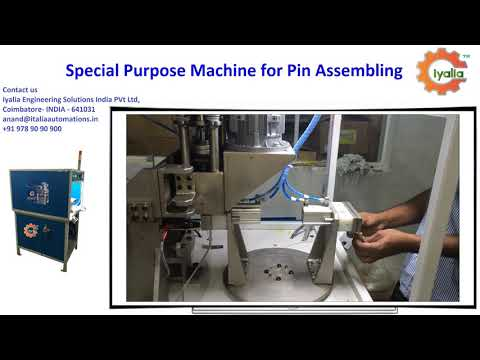 SPM Machine for Automated Assembly System