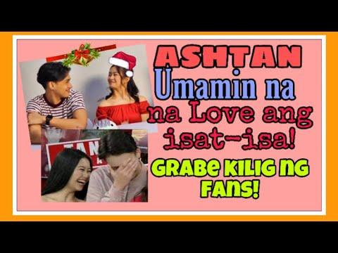 ASHTAN umamin na na love ang isat-isa! Real na real!  grabe kilig ng fans! | Luisa Almonte updates
