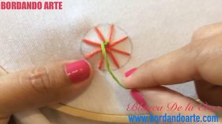 Punto de telaraña bordar a mano STITCH COBWEB SPIDER WEB