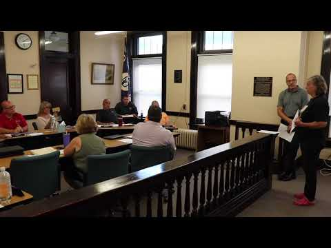 Charleroi Council Meeting