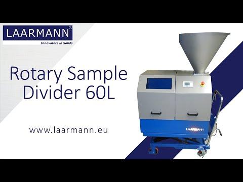 Rotary Sample Divider 60L
