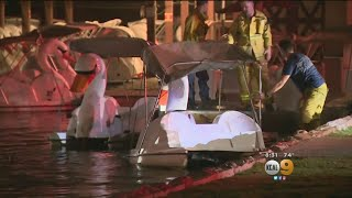 Dive Teams Recover Body In Echo Park Lake Search For Man Who Fell From Paddleboat