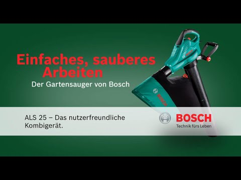bosch elektro laubsauger als25 g nstig schon ab 66 kaufen. Black Bedroom Furniture Sets. Home Design Ideas