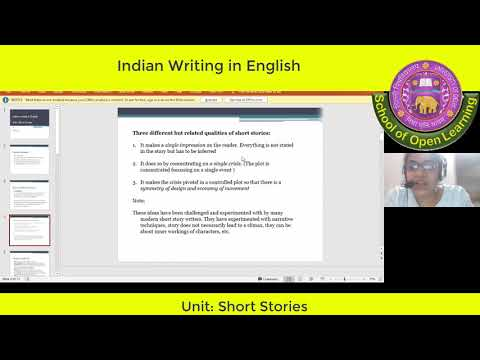 INDIAN WRITING IN ENGLISH, BRITISH POETRY AND DRAMA By - UDITA