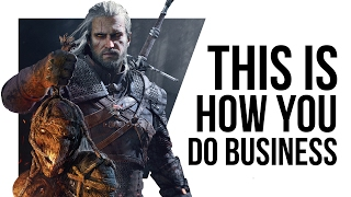 CD Projekt are showing games companies how it