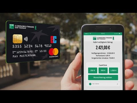 Mobile Banking App für Ihre Consors Finanz Mastercard® | Eine Karte, eine App – jeder Einkauf!