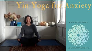 preview picture of video 'Yin Yoga for Anxiety'