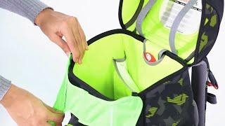 Jak správně nasadit reflexní vestu na aktovku Step by Step CLOUD