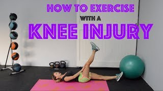 How to Workout with a Knee Injury