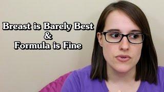 [Vegan Pregnancy] Breastfeeding is (barely) best & formula is fine (yep, even soy)