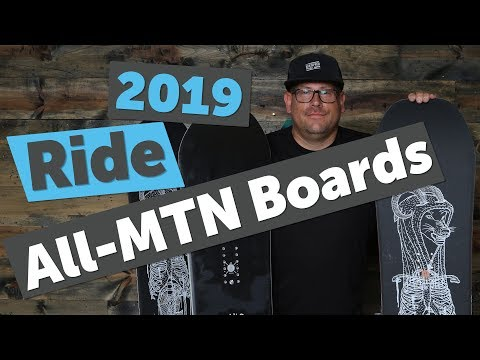 2019 Ride All Mountain/Freestyle Snowboards