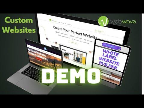 Forget Wix or Wordpress - Build Custom Websites With This White Label Website Builder [Webwave Demo]