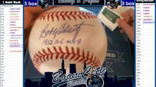 4 15 17 Hit Parade MLB Baseball 1 Box Break #122 Bobby Schantz