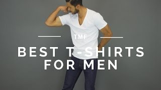 The 3 Best Fitting T-Shirts For Men