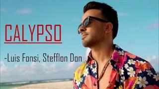 Calypso Luis Fonsi Letra & Lyrics / English and Spanish