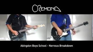 Abingdon Boys School - Nervous Breakdown (Guitar Cover)