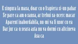 Speak feat. Raluka & DOC - Lasa-ma-mi place (Lyrics)
