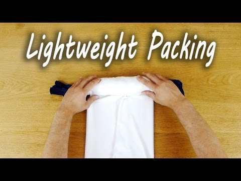 Pack Everything You Need For One Night Into A Tiny Roll