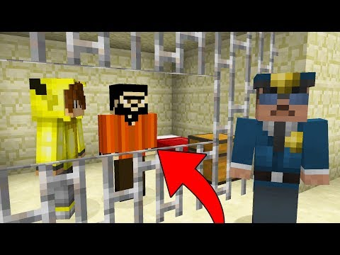 Minecraft EN ZOR İMKANSIZ ÇÖL HAPİSHANE'DEN KAÇIŞ!