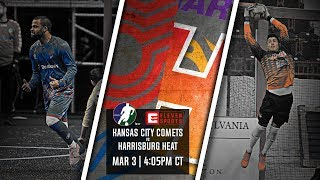 Kansas City Comets vs Harrisburg Heat