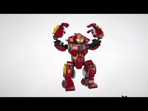 Vidéo LEGO Marvel Super Heroes 76104 : Le combat de Hulkbuster