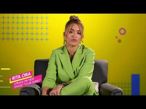 Rita Ora Talks New Single