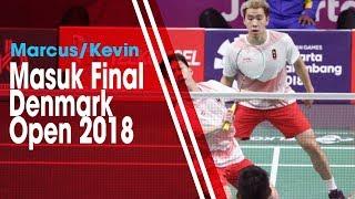Marcus dan Kevin Masuk Final Denmark Open 2018 Tantang Ganda Jepang