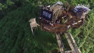 Ekspedisi Pengibaran Panji Rasululloh di puncak bukit Tranggulasih (Full)