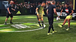 Zidane & his Son vs F2 Freestylers ✖ Football Skill Match